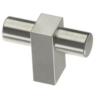 Hover Image to Zoom Artesia 1-3/4 in. Satin Nickel Bar Cabinet Knob