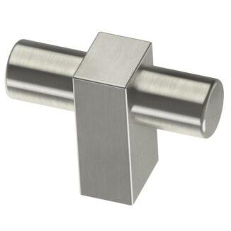 Hover Image to Zoom Artesia 1-3/4 in. Satin Nickel Bar Cabinet Knob