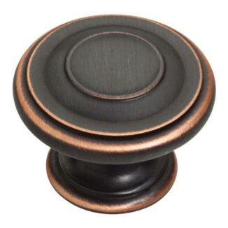 Round Door Knob (Venetian Bronze)