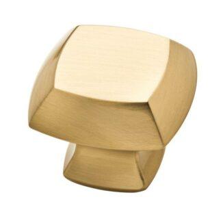 Mandara Square Cabinet Knob (Champagne Bronze)
