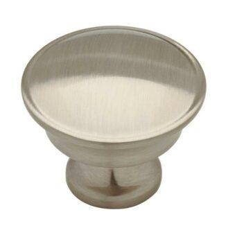 Silverton 1-1/4 in. (32mm) Satin Nickel Round Cabinet Knob